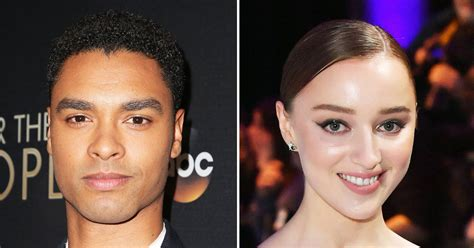 He is known for playing chicken george in the 2016 miniseries roots and from 2018 to 2019 was a regular. Bridgerton's Rege-Jean Page, Phoebe Dynevor Relationship ...