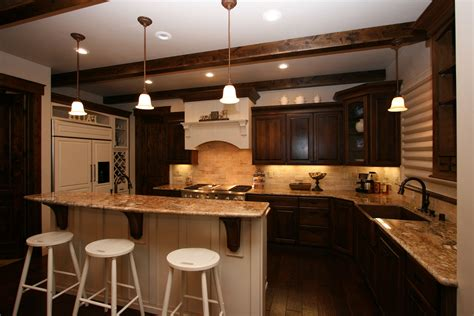 Excellent Kitchen Decor Ideas Inside Traditional Apartment