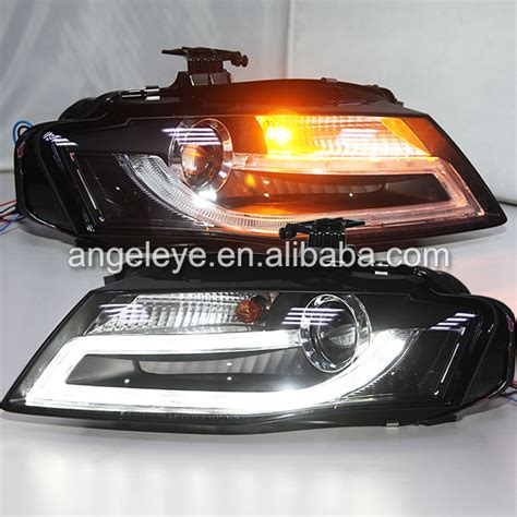 headlights for audi a4 b8 led front light l for a4