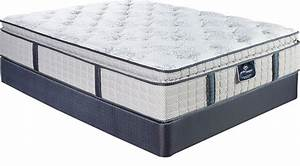 Serta perfect sleeper largo vista king mattress set for Furniture and mattress warehouse king
