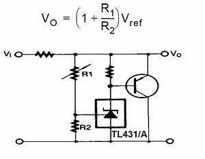 Explaining Programmable Shunt Regulator Tl431  Datasheet
