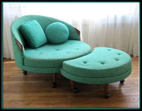 adrian pearsall 1717 rc chair w ottoman orig