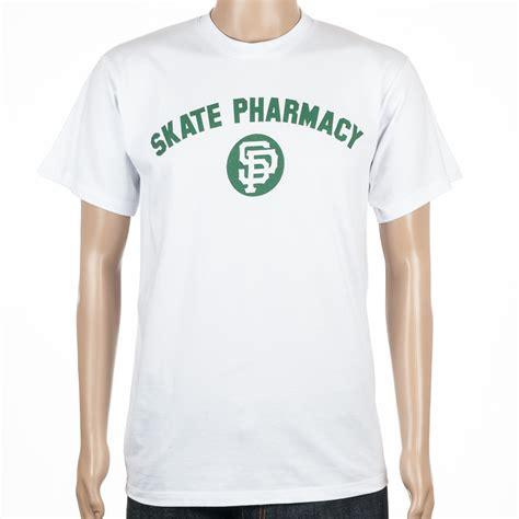 buy skate pharm unathletic t shirt white at skate pharm