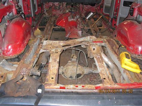 1996 jeep floor pan all floor pans and cargo area rust jeep forum