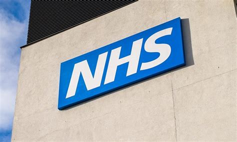 NHS hospitals forced to alter their LOGO   Daily Mail Online
