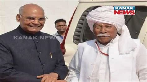 President Kovind meets his friend during a function at ...