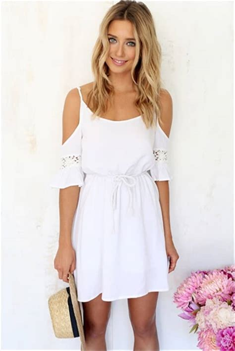 20 Awe-Inspiring White Summer Dresses 2016 - SheIdeas