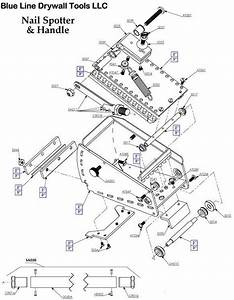 Blueline Usa Nail Spotter Replacement Parts