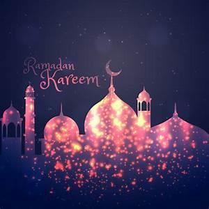 ramadan kareem background greeting - Download Free Vector ...  Ramadan