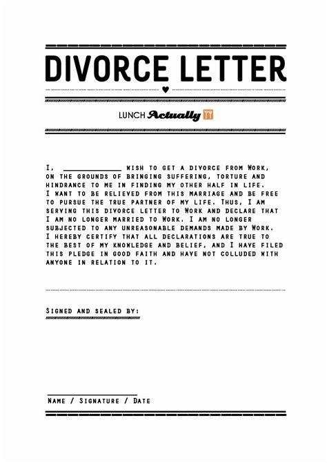 divorce lawyer letter  divorce lawyer