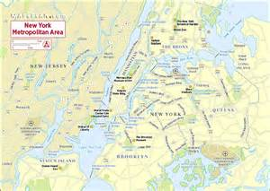 New York City Tourist Attractions Map
