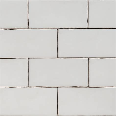 handmade white matt natura wall subway tiles 130 215 65 in