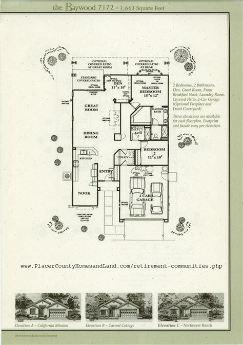 sun city roseville floorplans