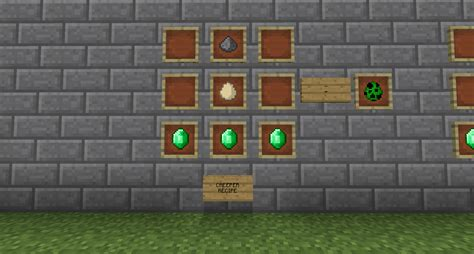 minecraft mob egg creeper nether recipes overworld edition skeleton safe java burn forums daylight