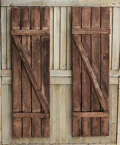 Rustic shutters farmhouse shutters country shutters for Barnwood shutters