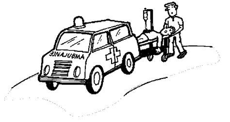 disegni ambulanze  disegni  bambini da stampare