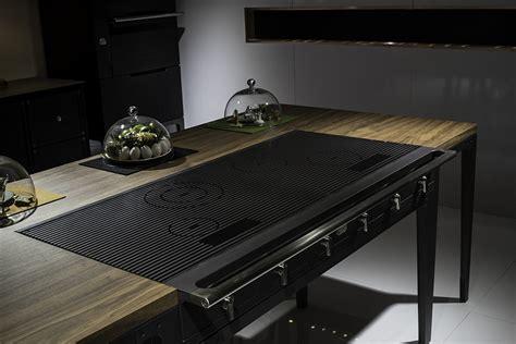 kitchen island with dining table ingenious la cornue w reinterprets design for the
