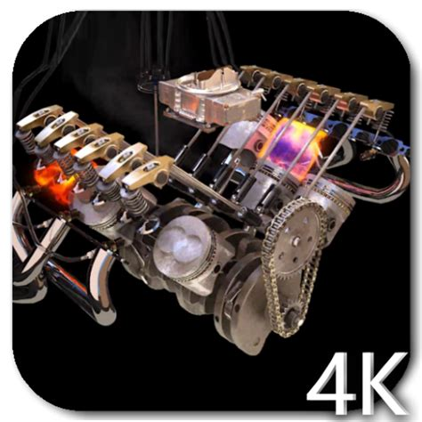 Engine 4k Video Live Wallpaper