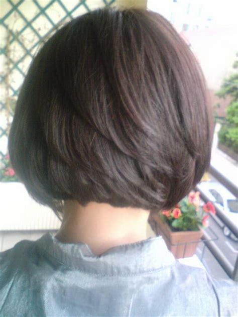 coupe de cheveux carré plongeant coupe de cheveux carr 233 court plongeant