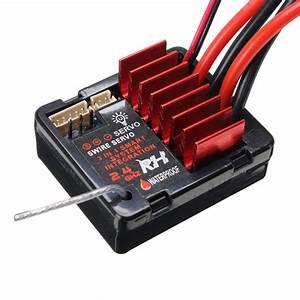 Remo E9901 Esc Receiver 1  16 Rc Car Parts For Truggy Buggy Short Course 1631 1651 1621