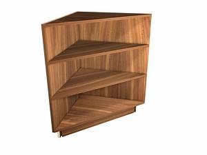 Exposed, Interior, Corner, Shelf, Base, Cabinet
