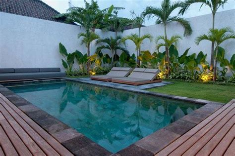 gardens around swimming pools villa south seminyak bali villas garden inspiration pinterest tropical plants villas