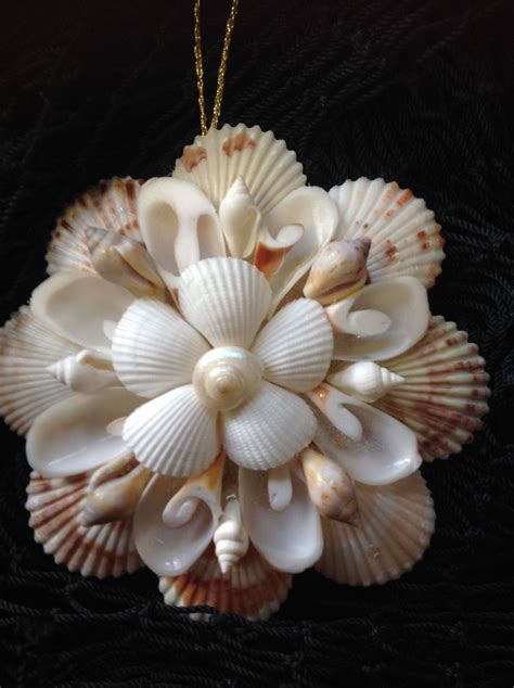 christmas crafts with shells pin by on seashell crafts seashell ornaments shells and mirror ornaments