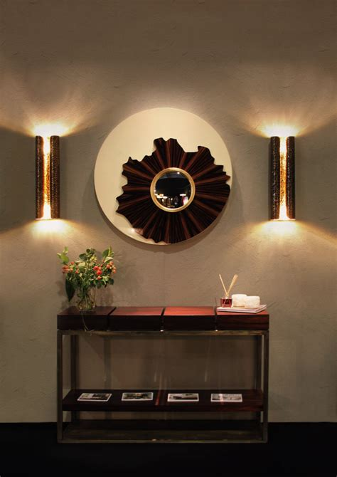 home interior sconces 6 ideas for big hallways large wall mirror