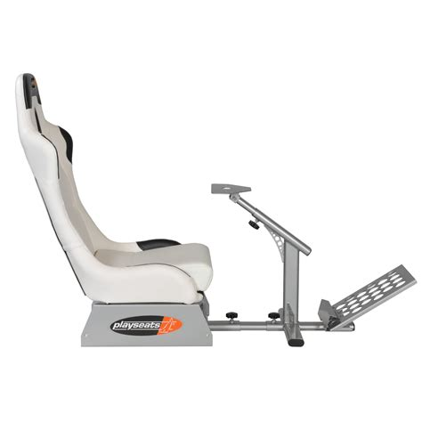 siege volant playseats evo siège simulation automobile blanc base