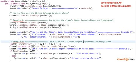 java template java reflection tutorial create java pojo use reflection api to get classname declaredfields