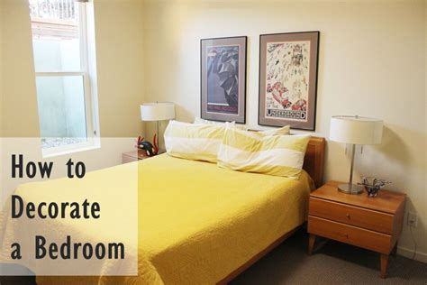 decorating ideas for small bedrooms how to decorate a bedroom simply and with style