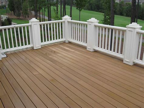 Can You Stain Composite Decking ? Trex Decking