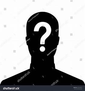 man silhouette question mark man silhouette icon question