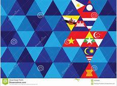 ASEAN Economic Community Stock Vector Image 40669885