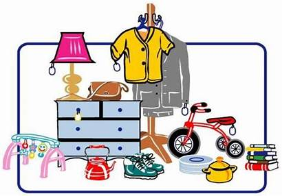 Clip Yard Clipart Advertisement Items Sign Sales