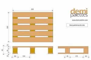 Dimension Palette Europe : dimensions of a pallet pallet sizes and types available ~ Dallasstarsshop.com Idées de Décoration