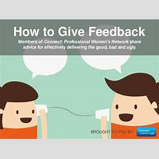 How To Give Effective Feedback With Quotes From Working Women Women…
