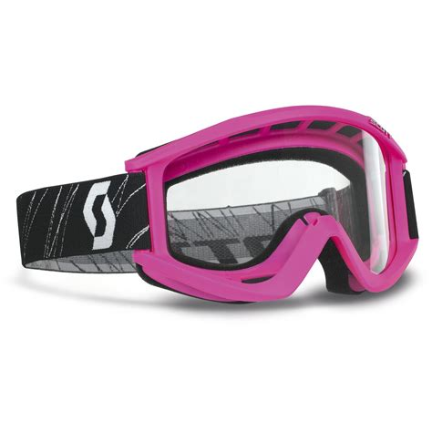 youth motocross goggles scott new mx kids 89si clear lens dirt bike youth girls