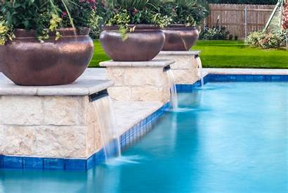 Scuppers Pool Swimming Columns Having Features Advantages
