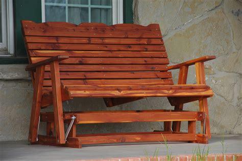 build woodworking plans glider bench diy  handmade wood