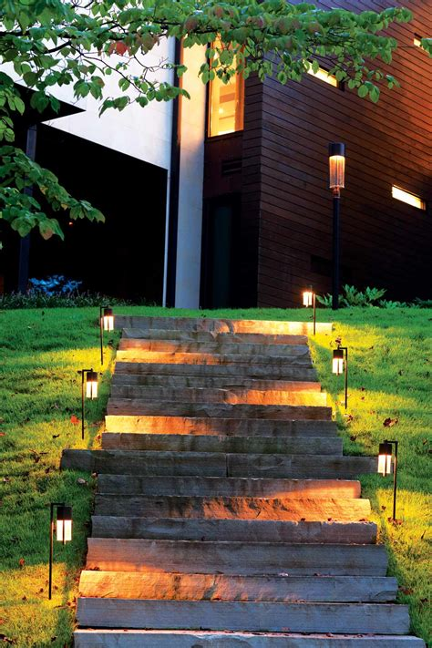 light on the path outdoor home lighting pack of 10 solar garden path lights