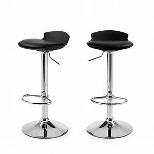 Lot De 2 Tabourets De Bar Design Uma One By Drawerfr