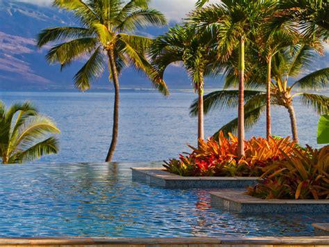Four Seasons Wailea Maui Hawaii Desktop Background 595536 ...