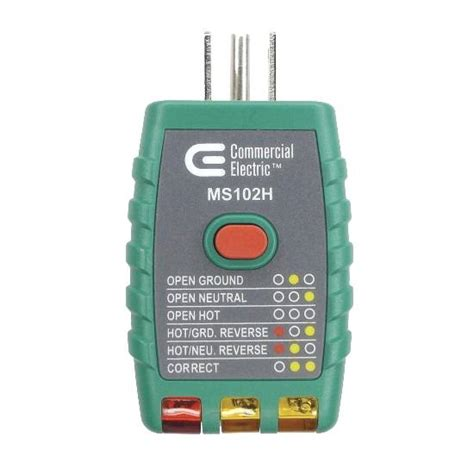 Gfci Outlet Tester Commercial Electric Panellockout