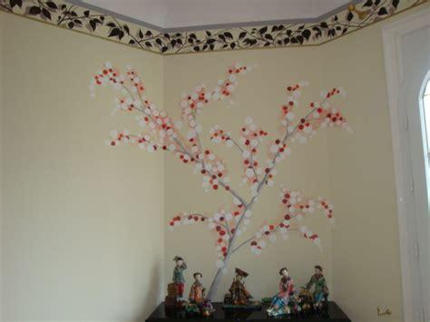 balance murale de cuisine décoration murale avec frise rappelant les motifs des