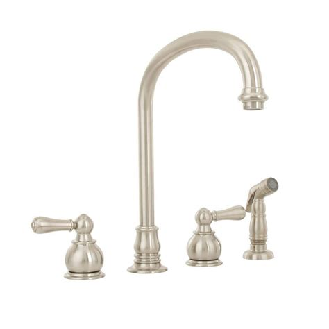 standard kitchen faucet standard hton 2 handle standard kitchen faucet