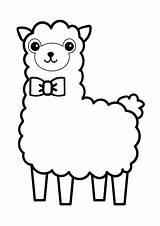 Coloring Llama Alpaca Rocks Cartoon Sheets Kid Animal Printable Recognize Preschool Count Numbers Ten Support sketch template