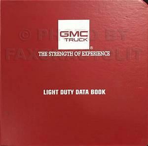 1993 Gmc G Van  Vandura  Rally Wiring Diagram Manual Original