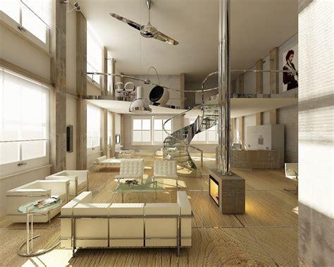 Loft de estilo moderno :: Imágenes y fotos