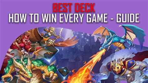 Card Monsters Best Deck  How To Win Almost Every Game In